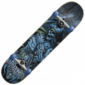 Pirate Blue Complete Skateboard 7.75