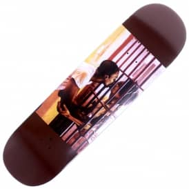Davis Bars Brown Skateboard Deck 8.5
