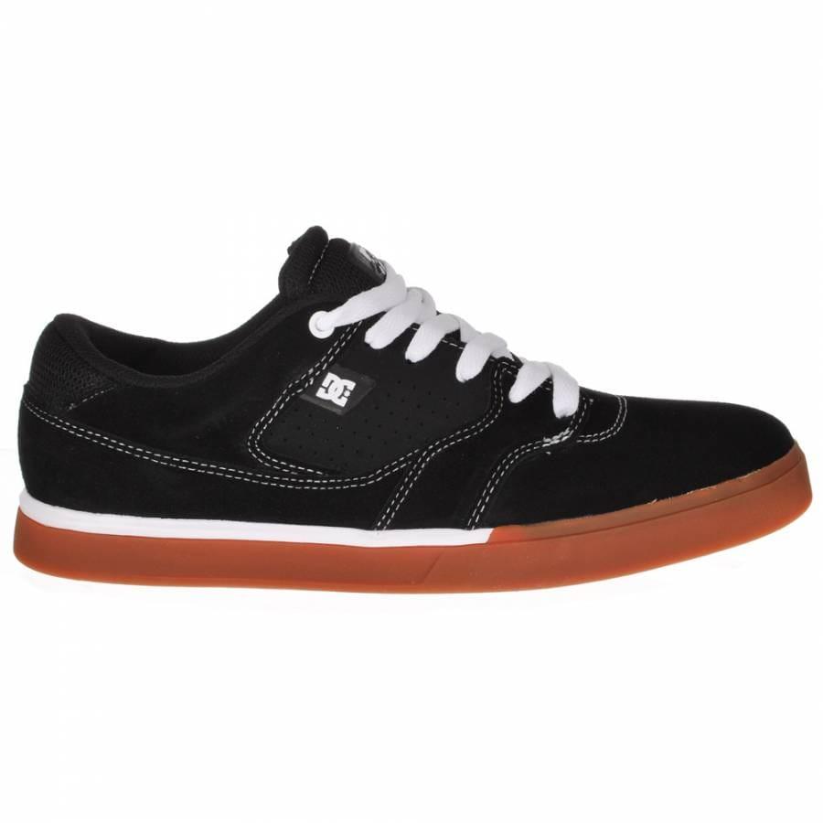 dc shoes dc cole lite s black white gum skate shoes dc