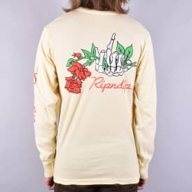 Dead Rose Longsleeve T-Shirt - Yellow