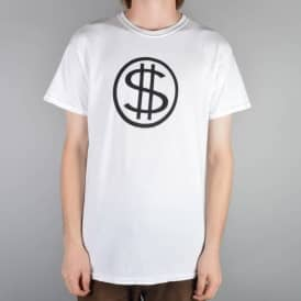 Jason Lee Dollar Skate T-Shirt - White