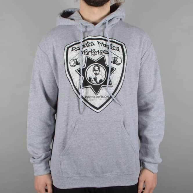 Dear Skating SMA Rocco Divison Pullover Hoodie - Heather Grey