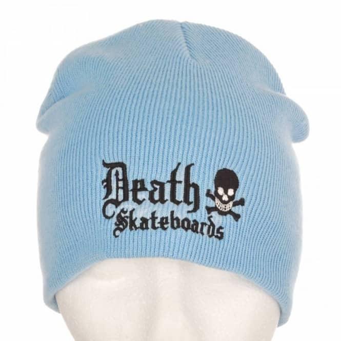 0b6562b3ad7 Death Skateboards Death Beanie Sky Blue - Beanies from Native Skate Store UK