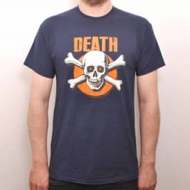 Death Generation X Skate T-Shirt Navy