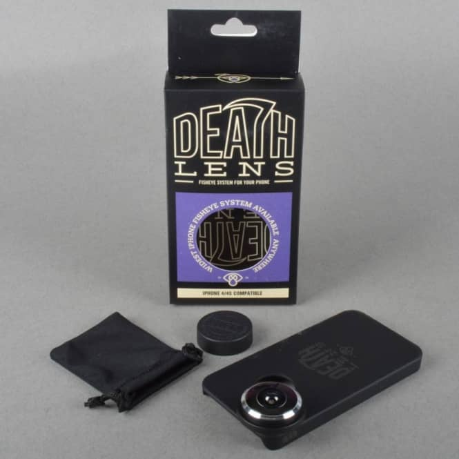 Death Lens Fisheye Lens iPhone 4/4S Compatible
