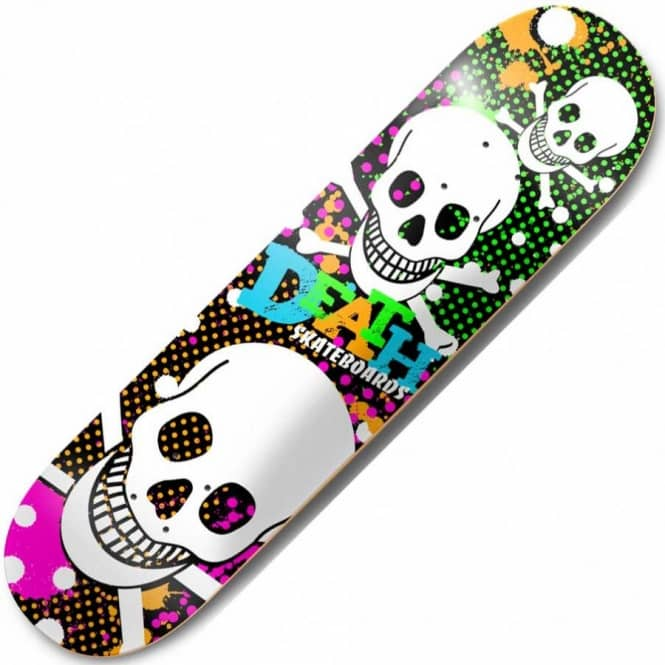 Death Skateboards Death RIP Skateboard Deck 8.0""
