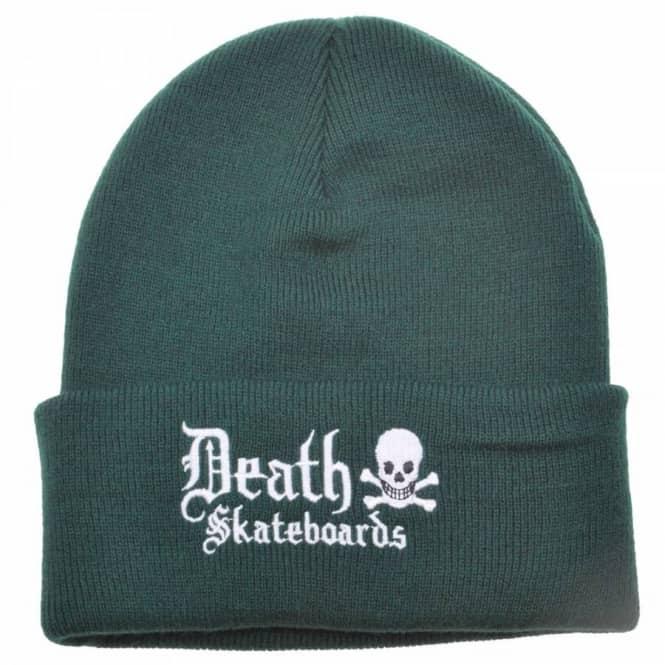 5d88c3c2187 Death Skateboards Death Rollup Beanie Green - Beanies from Native ...