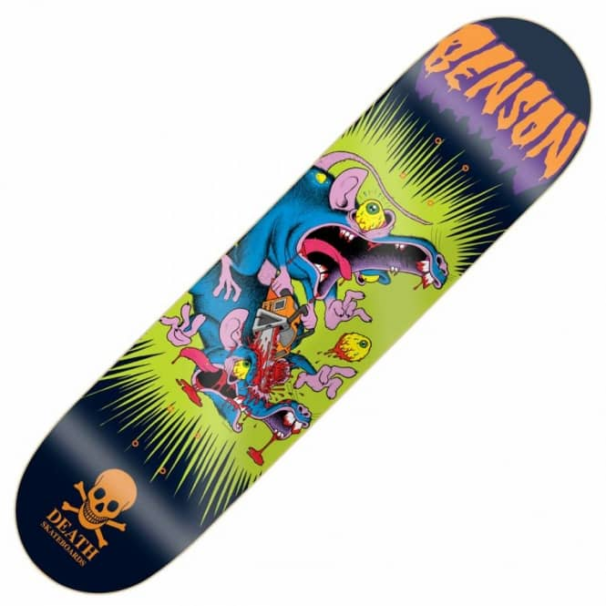 Death Skateboards Benson Psycho Rat Skateboard Deck 8.25''