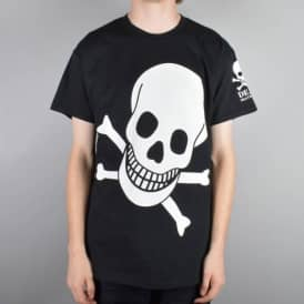 Big Skull Skate T-Shirt - Black