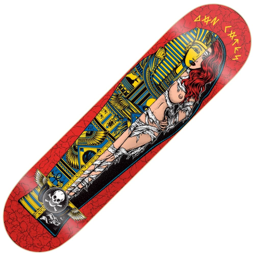 6de9c358a75 Death Skateboards Dan Cates Mummy Skateboard Deck 9.0