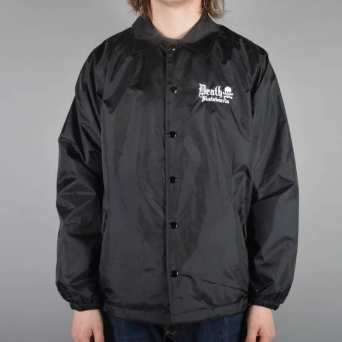 Death Skateboards Death Coach Jacket - Black
