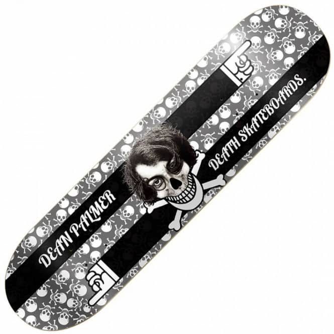 Death Skateboards Death Dean Palmer Skull Skateboard Deck 8.125