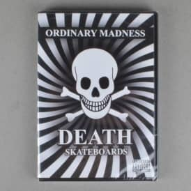 Death Skateboards Ordinary Madness Skateboard DVD