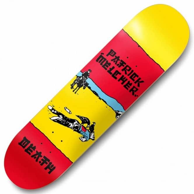 1e995f18d46 Death Skateboards Death Skateboards Patrick Melcher The Clash Skateboard  Deck 8.25