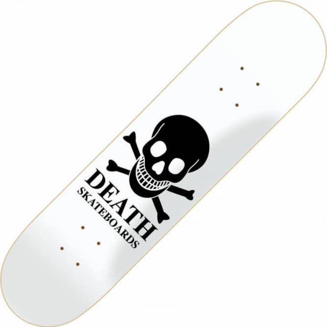 Death Skateboards Reverse Skull Mini Skateboard Deck