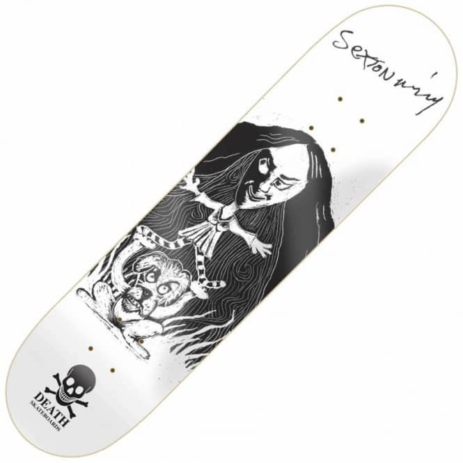 Death Skateboards Sexton Ming II Skateboard Deck 8.5''