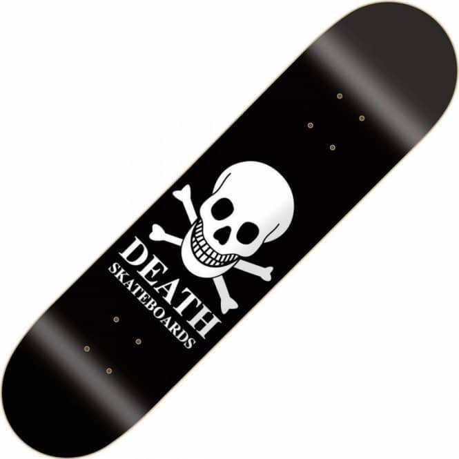 Death Skateboards Skull Skateboard Deck 9.0