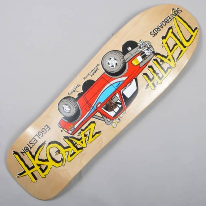 Death Skateboards Zarosh Truck Skateboard Deck 9.5