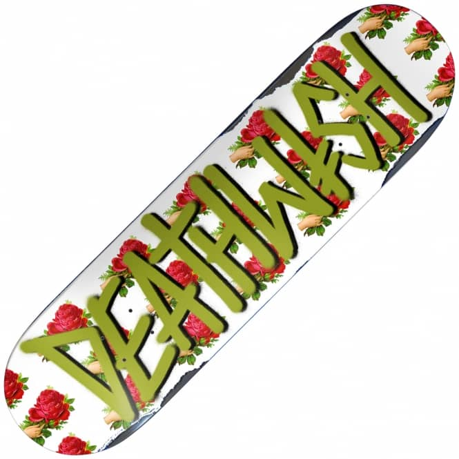 Deathwish Skateboards Deathspray Wallpaper Skateboard Deck 8.5""