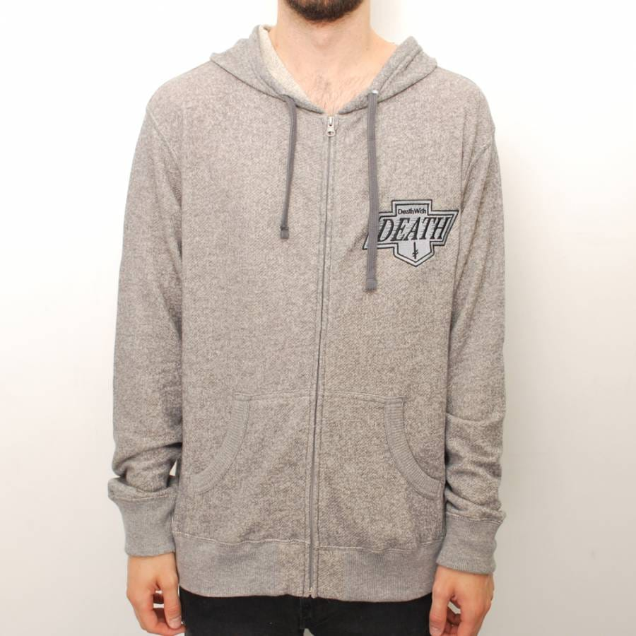 Deathwish Skateboards Deathwish Death Kings French Terry Zip Up
