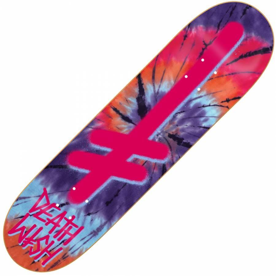 Deathwish Skateboards Deathwish Gang Logo Tie Dye/Pink ...