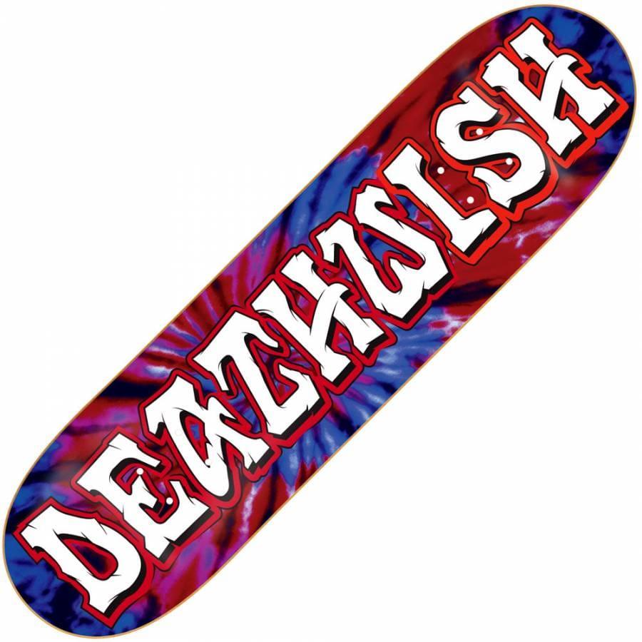 Deathwish Skateboards Deathwish Great Death Tie Dye Red ...