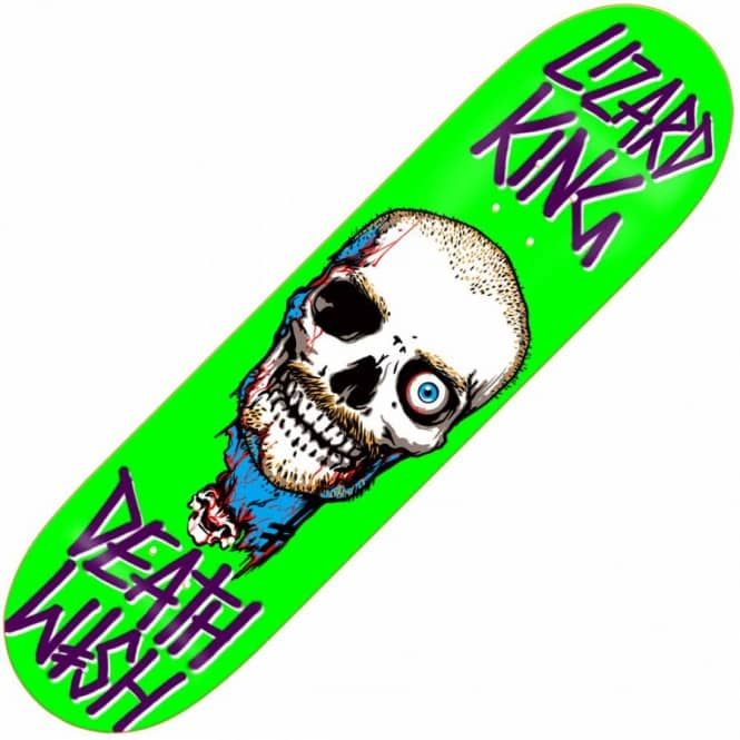 7776b3bcd Deathwish Skateboards Deathwish Lizard King Appetite Deck 8.125
