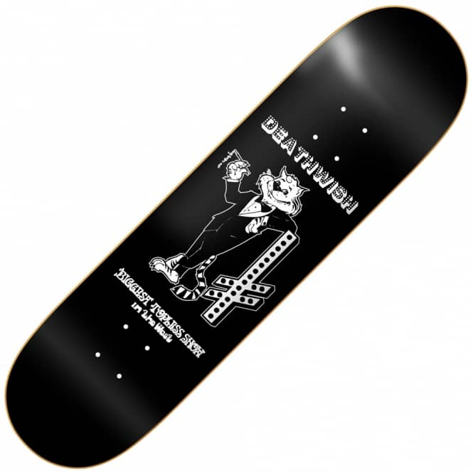 Deathwish Skateboards Cool Cat Skateboard Deck 8.0