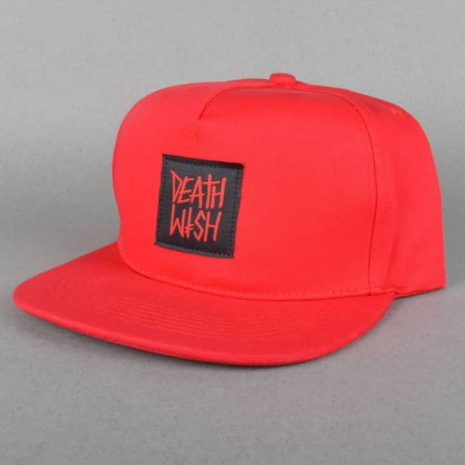 Deathwish Skateboards Death Row Snapback Cap - Red