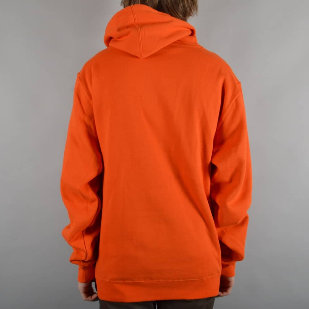 Deathwish Skateboards Death Stack Pullover Hoodie - Orange/Black ...