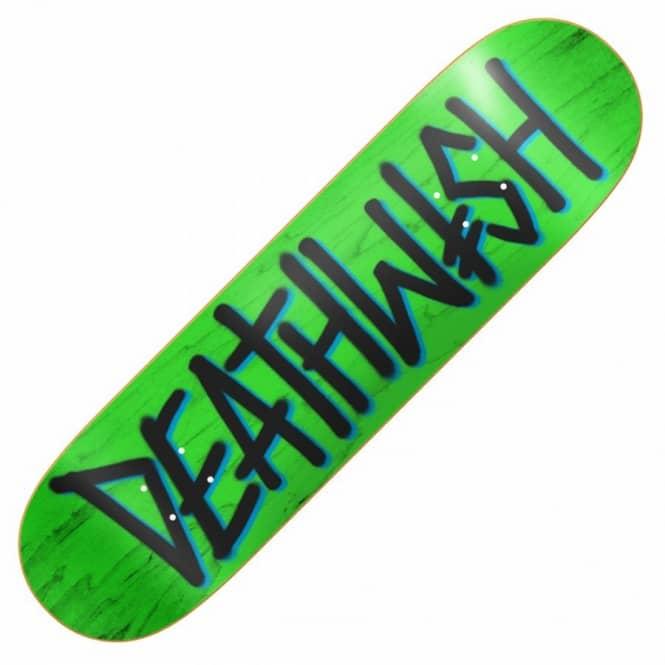 b6a64c2ee Deathspray Green/Navy/Black Skateboard Deck 8.25''
