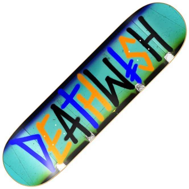 Deathwish Skateboards Deathspray Multi Strip Skateboard Deck 7.75