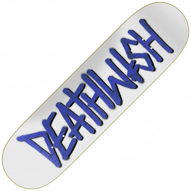 Deathwish Skateboards Deathspray Punch Out Skateboard Deck 8.25