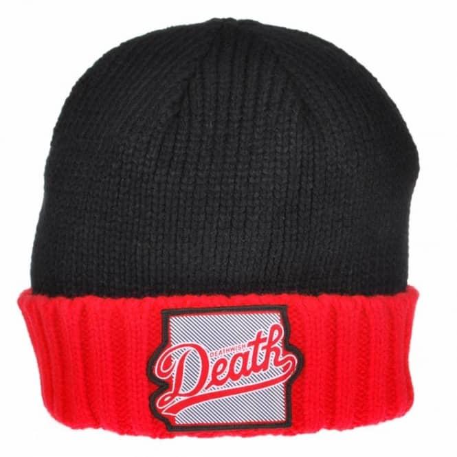 a1bf38c2a99 Deathwish Skateboards Deathwish Dragon Skate Beanie - Black Red ...