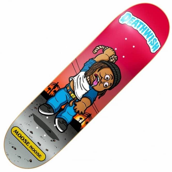 deathwish skateboards deathwish low life kids moose