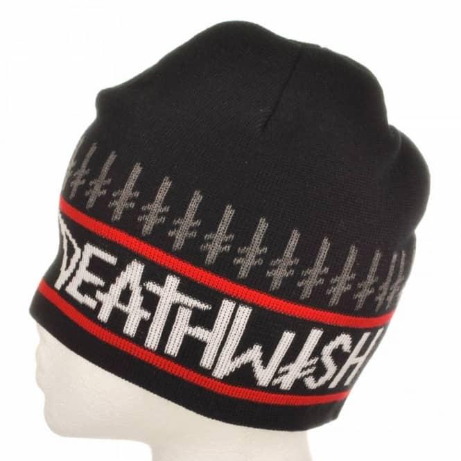 6440582e83b Deathwish Skateboards Deathwish Mandarian Beanie Black - Beanies ...
