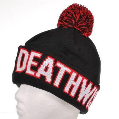 cb51b0552fb Deathwish Skateboards Deathwish Plains Beanie Black - Beanies from ...