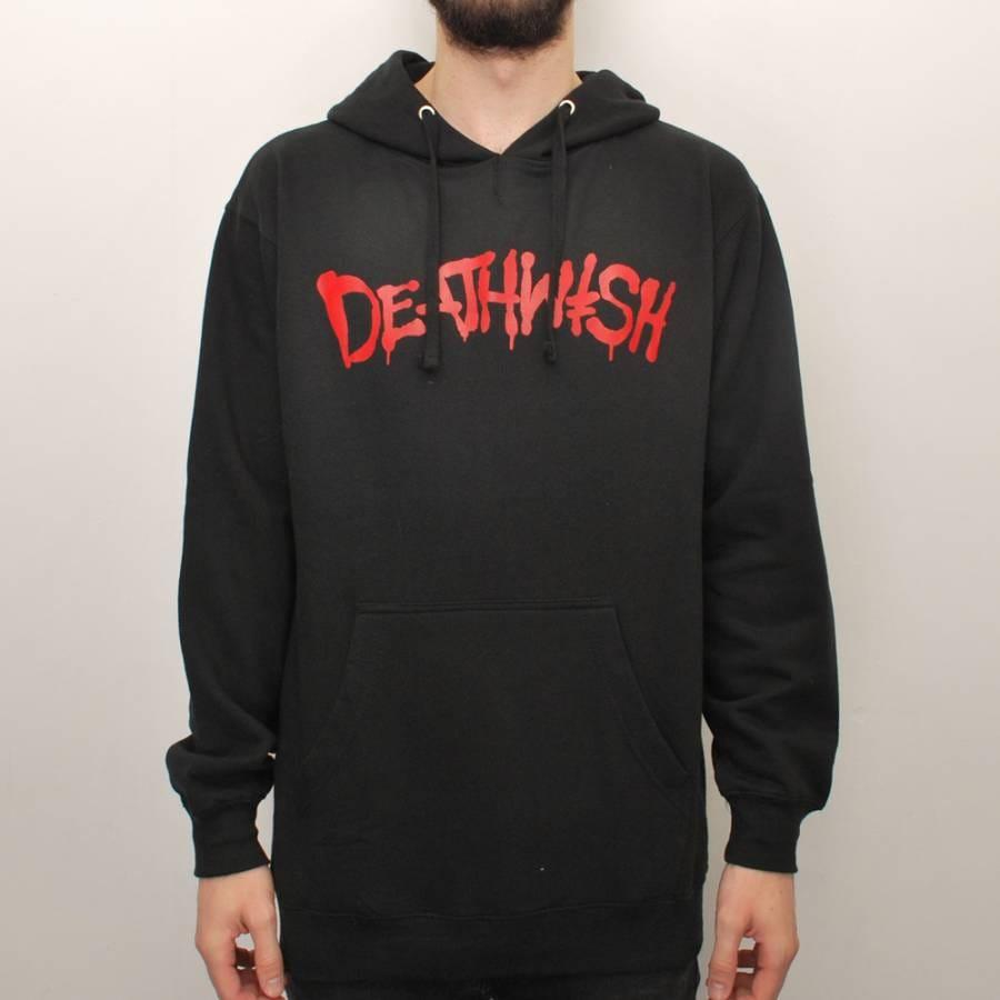 Deathwish Skateboards Deathwish Street Spray Pullover Hoodie - Black