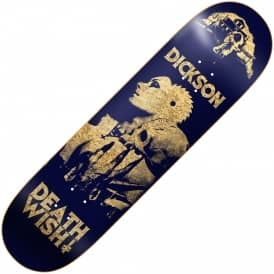 Deathwish Skateboards Dickson Colors Of Death 2 Skateboard Deck 8.0""