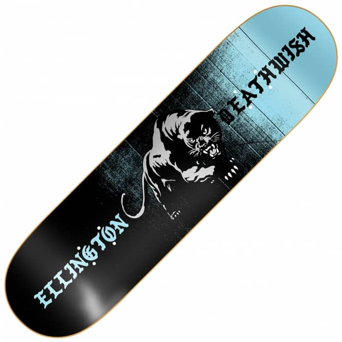 Deathwish Skateboards Ellington Panther Skateboard Deck 8.0