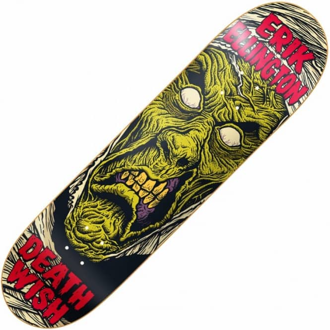 Deathwish Skateboards Erik Ellington Nightmare Skateboard Deck 8.25