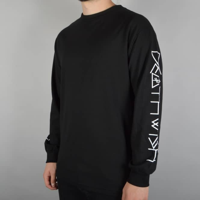 Deathwish Skateboards Future Thrash Longsleeve T-Shirt - Black