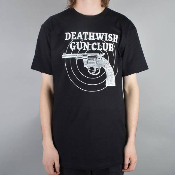 Deathwish Skateboards Gun Club Skate T Shirt Black