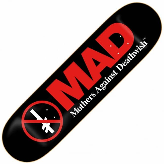 Deathwish Skateboards MAD Skateboard Deck 8.475''