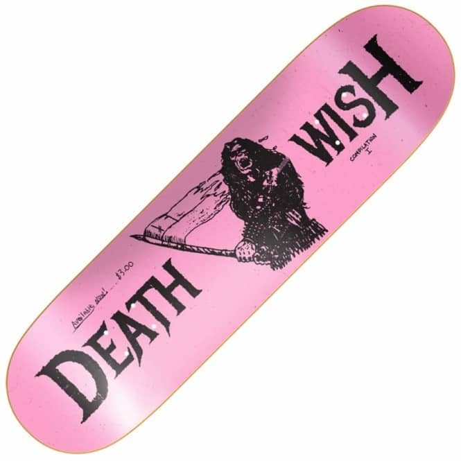 Deathwish Skateboards Metal Uprising Skateboard Deck 8.125