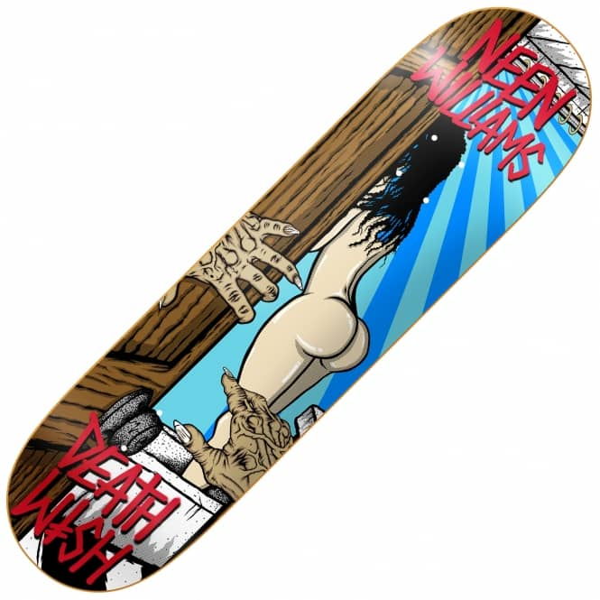 Deathwish Skateboards Neen Williams Creeper 2 Skateboard Deck 8.125