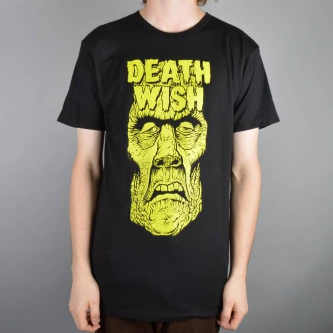 Deathwish Skateboards Nightmare Skate T-Shirt - Black