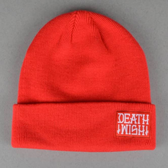 Deathwish Skateboards Placa Beanie - Red