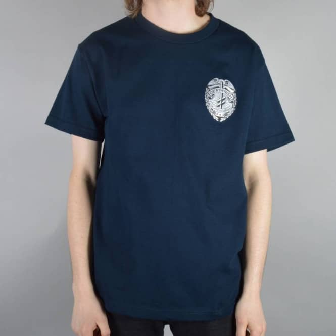 Deathwish Skateboards Security Skate T-Shirt - Navy