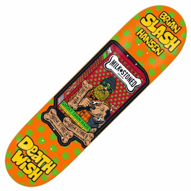 Deathwish Skateboards Slash Crazy Consumers Skateboard Deck 8.125''